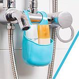 Силиконовый держатель для разнообразных пренадлежностей как на кухне так и в ванной, фото 10