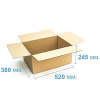 Ящик картонный (520 х 380 х 245), бурая