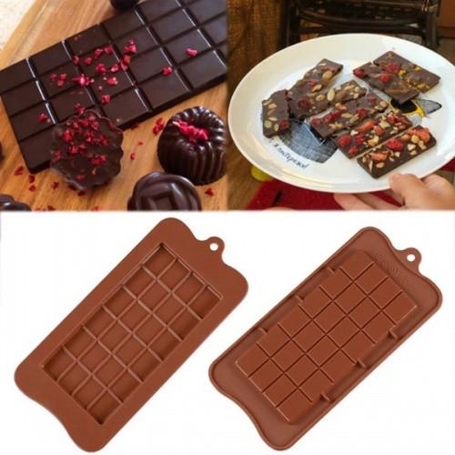 Силиконовая форма для конфет - Шоколадка