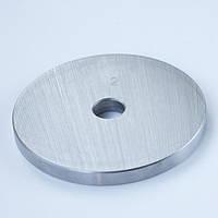 Блин диск для штанги и гантелей 2кг стальной (металлический, сталь)