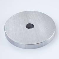 Блин диск для штанги и гантелей 3кг стальной (металлический, сталь)
