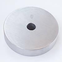 Блин диск для штанги и гантелей 5кг стальной (металлический, сталь)
