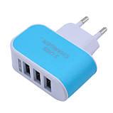 Зарядное Устройство USB на 3 порта 3.1A AC 220, фото 4