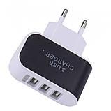 Зарядное Устройство USB на 3 порта 3.1A AC 220, фото 8