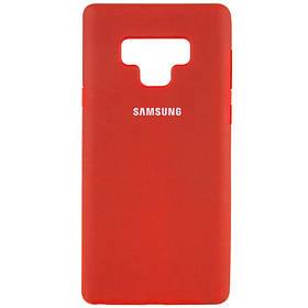 Чехол Silicone Cover Full Protective (AA) для Samsung Galaxy Note 9. Красный / Red