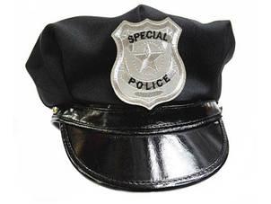 Карнавальная Шляпа Полицейского Фуражка Полицейская + Подарок