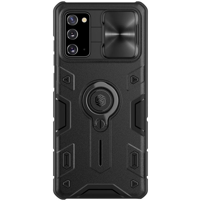 Nillkin Samsung Galaxy Note 20 CamShield Armor Case Black Чехол Накладка Бампер
