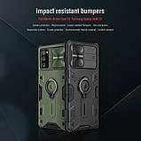 Nillkin Samsung Galaxy Note 20 CamShield Armor Case Black Чехол Накладка Бампер, фото 4