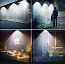 Сенсорный Светильник LED Лампа На Солнечной Батарее Solar BG106 SL 40 LED Черный, фото 5