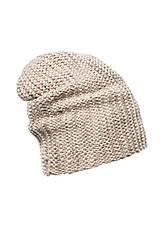 Гарна тепла в'язана шапка жіноча., фото 3