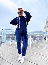 Велюровый спортивный костюм, фото 3