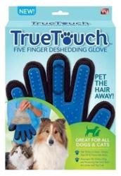 Перчатка для чистки домашних животных