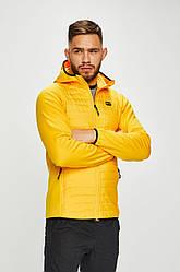 Куртка чоловіча демісезонна з капюшоном Multi Quilted Jacket Jack & Jones жовтий - 12148531