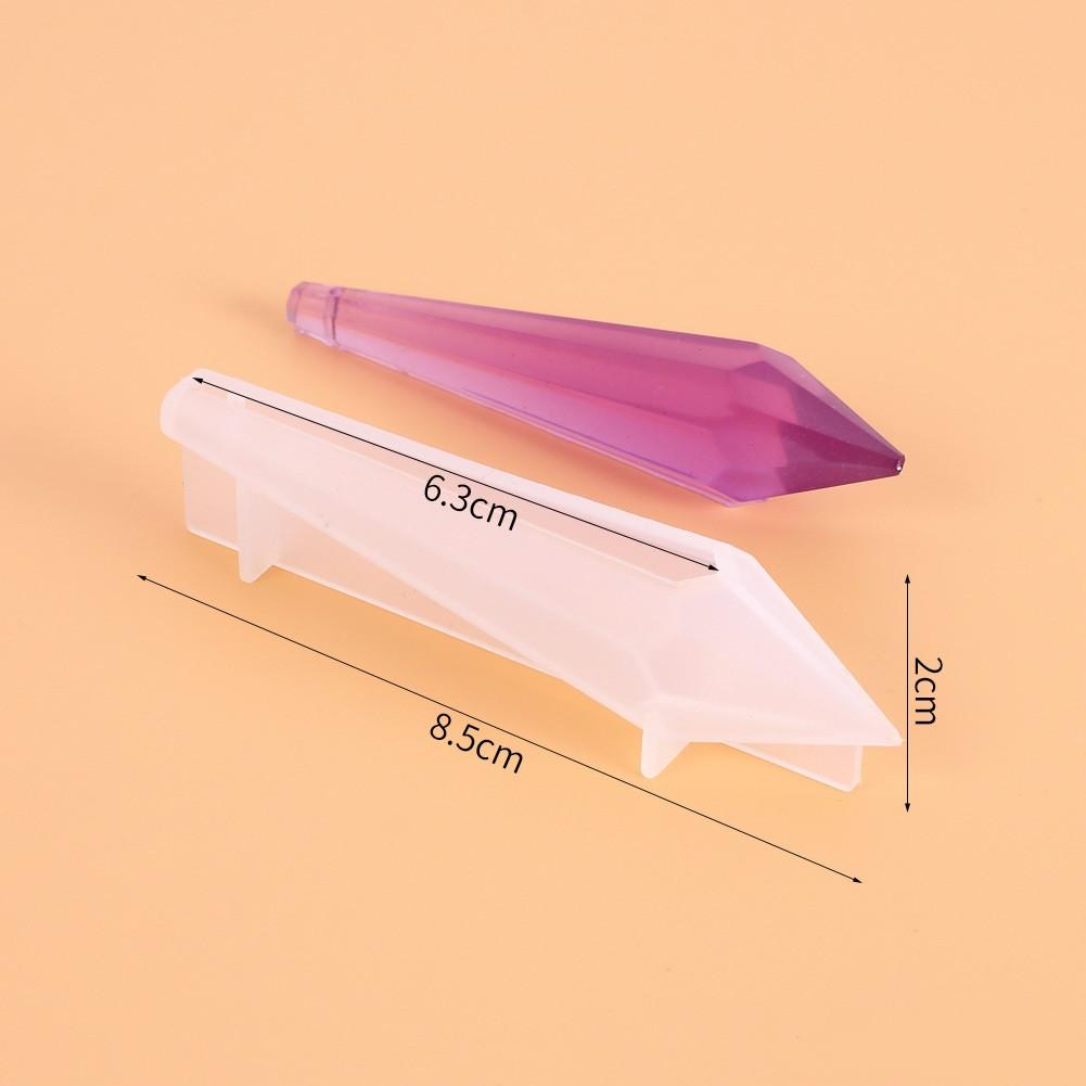 Силиконовый молд для кулона, Кристалл №80