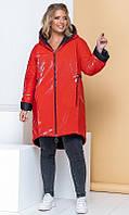 Пальто 858525 48/52 красный