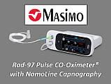 Прикроватный пульсоксиметр - Masimo Rad-97 Pulse Co-Oximeter, фото 5