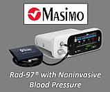 Прикроватный пульсоксиметр - Masimo Rad-97 Pulse Co-Oximeter, фото 4