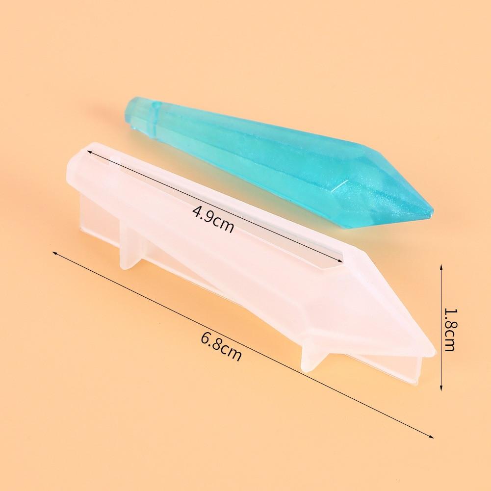 Силиконовый молд для кулона, Кристалл №92