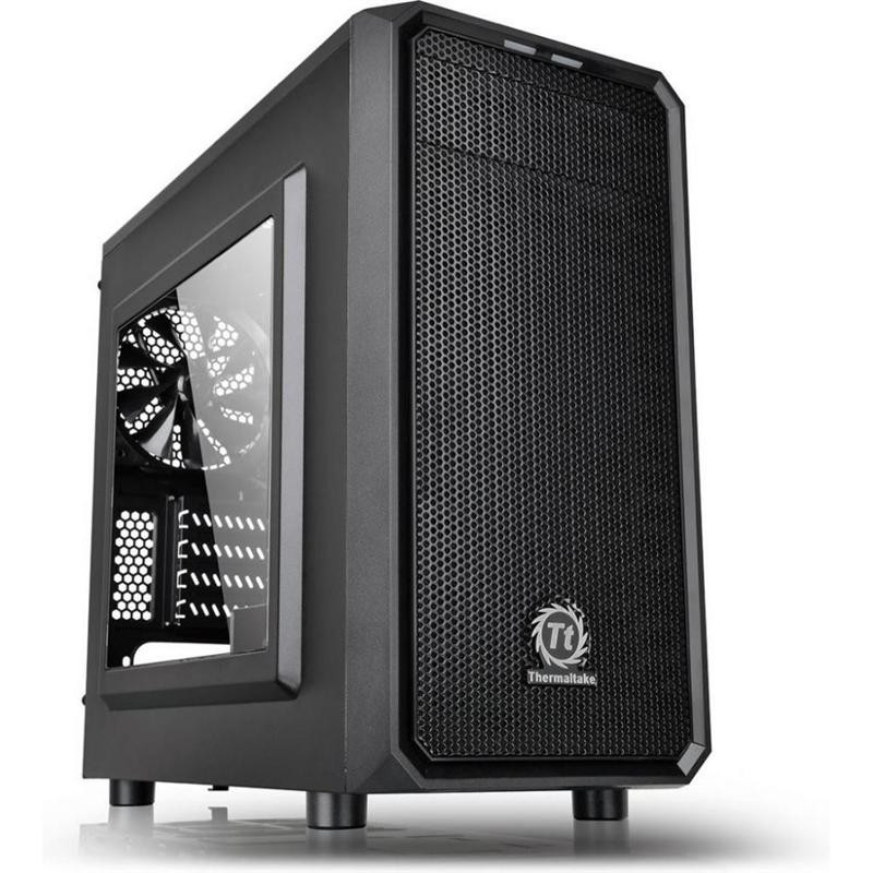 Корпус Thermaltake Versa H15 Black без БП (CA-1D4-00S1WN-00)