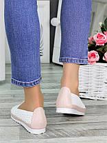 Туфли мокасины летние кожаные 7326-28, фото 3