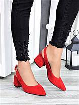 Туфлі червона замша Molly 7415-28, фото 3