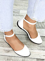 Туфлі Аліса біла шкіра 7418-28, фото 2