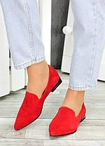 Туфлі човники червона замша Magic 7481-28, фото 3