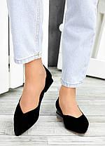 Туфли черная замша Volna 7488-28, фото 2