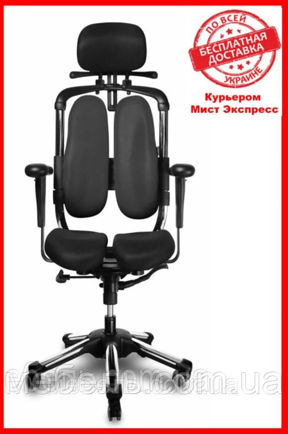 Кресло для врача Barsky BHN-01 Hara Nietzsche, черное, с вешалкой для одежды