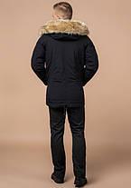 Braggart Arctic 3986 | Мужская зимняя парка черная 48 (M) 54 (XXL) 56 (3XL), фото 3