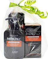 Набор мужской косметики для ухода за кожей лица BIOAQUA Men Only Set 3 в 1 подарочный для мужчин Оригинал