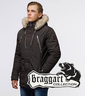Braggart Arctic 14015 | Парка зимняя мужская коричневая, фото 2