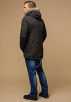 Braggart Arctic 14015 | Парка зимняя мужская коричневая, фото 3