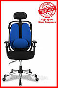 Офисное кресло Barsky ER-04 Ergonomic black, кресло из ткани