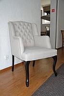 Кресло VALENCIA с подлокотниками 64х80х100 см из ткани и эко-кожи