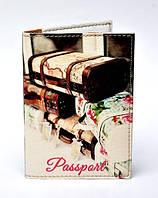"""Обложка на паспорт """"Чемоданы"""""""