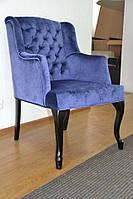 Кресло VALENCIA с подлокотниками 64х80х100см из ткани и эко-кожи