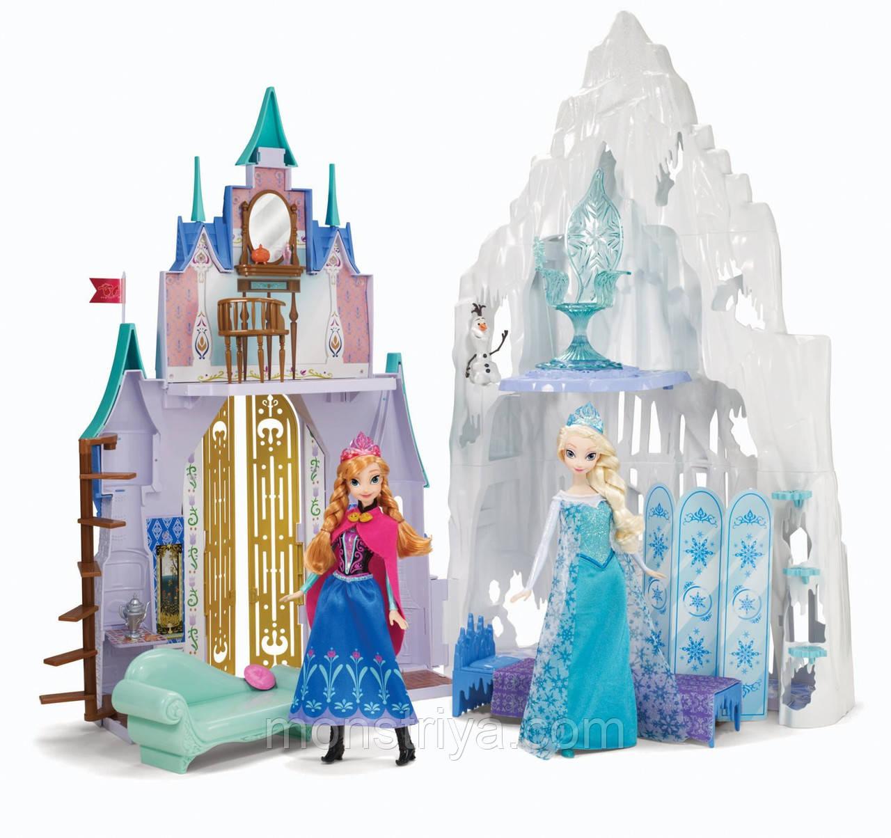 Дисней Холодное сердце дворец и замок Эренделль | Disney Frozen Castle & Ice Palace Playset
