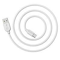 USB кабель Borofone BX14 Type-C 2m белый