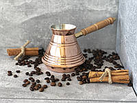 Медная турка Джезва для кофе НЛО 400 мл