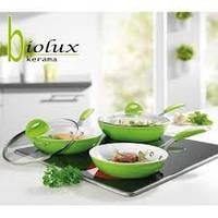 Набор из трех сковородок Биолюкс керама (Biolux kerama)
