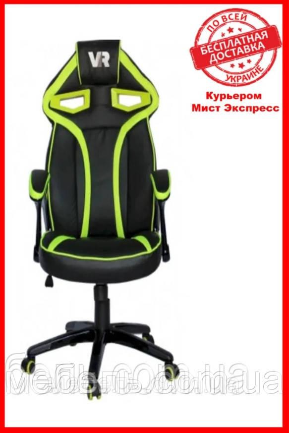 Компьютерное кресло Barsky SD-05 Sportdrive Game Green, геймерское кресло