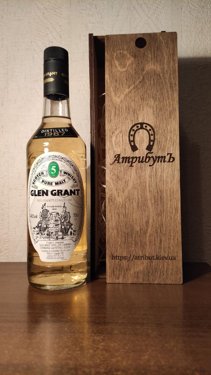 Виски 1987 года Glen Grant Шотландия