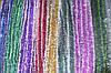Мишура Новогодняя с белыми кончиками d=5 см ,3м, 100шт/в уп. (1 уп.) микс расцветок по 3м