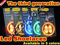 Светодиодные светящиеся мигающие неоновые шнурки Led Shoelaces, фото 1
