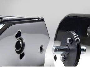 Машинка для раскатки теста + лапшерезка Marcato Atlas 150 Oro, фото 3