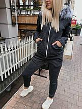 Спортивный костюм с мехом на капюшоне, фото 2