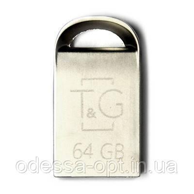 Накопичувач USB 64GB T&G металева серія 107, фото 2