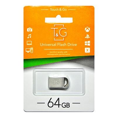Накопичувач USB 64GB T&G металева серія 107