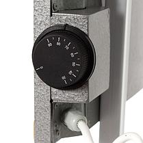 Керамічний обігрівач Венеція ПКИТГ 250Вт з термостатом електричний побутовий горизонтальний 60х30 Venecia, фото 2